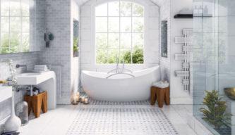 在来工法の風呂